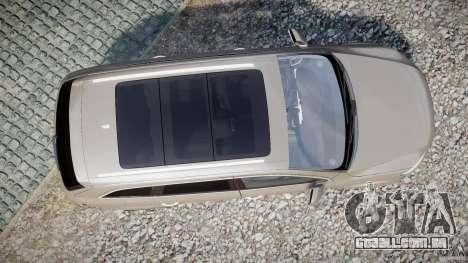 Audi Q7 V12 TDI Quattro Stock  v2.0 para GTA 4 vista direita