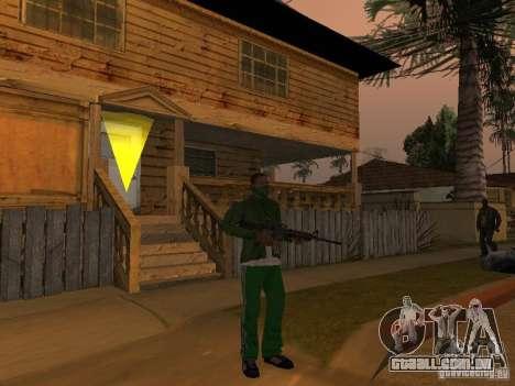 CLEO armas para GTA San Andreas segunda tela
