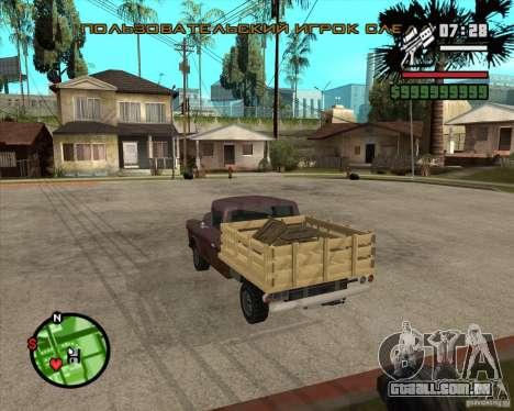 Walton HD para GTA San Andreas esquerda vista