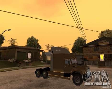SuperZiL v. 2.0 para GTA San Andreas vista direita