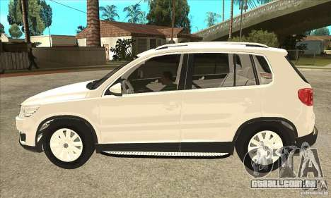 Volkswagen Tiguan 2.0 TDI 2012 para GTA San Andreas esquerda vista