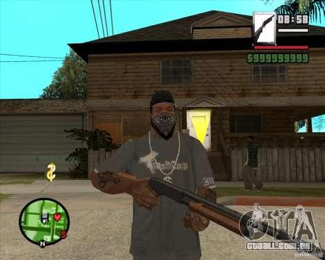 Chromegun para GTA San Andreas segunda tela