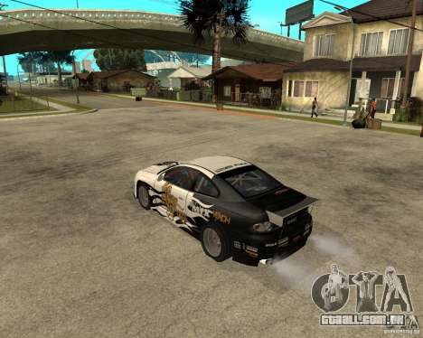 Vauxhall Monaro Rogue Speed para GTA San Andreas esquerda vista