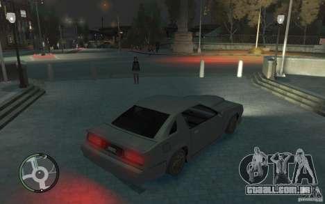Buffalo IV para GTA 4 traseira esquerda vista