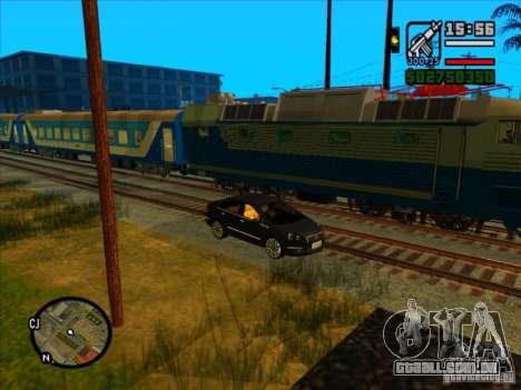 Trem longo para GTA San Andreas sexta tela