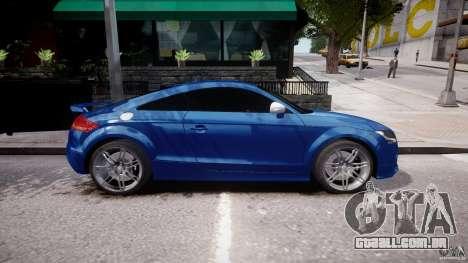 Audi TT RS Coupe v1 para GTA 4 esquerda vista