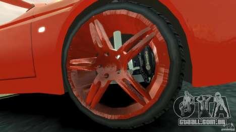 Alfa Romeo GTV Spider para GTA 4 vista interior