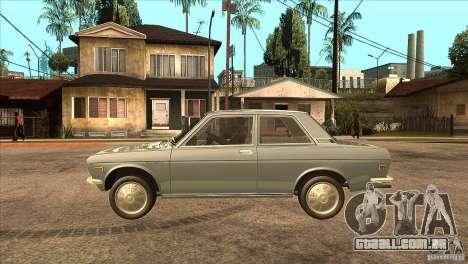 Datsun 510 para GTA San Andreas esquerda vista