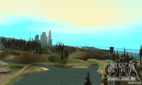 10x Increased View Distance para GTA San Andreas terceira tela