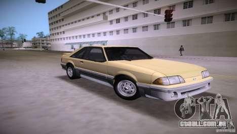 Ford Mustang GT 1993 para GTA Vice City