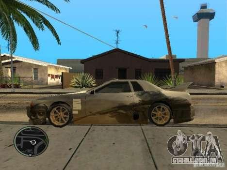 Fantasma de vinil para Elegy para GTA San Andreas esquerda vista