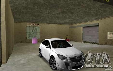 Opel Insignia para GTA Vice City vista traseira
