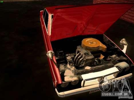 Mitsubishi Galant GTO-MR para GTA San Andreas vista traseira
