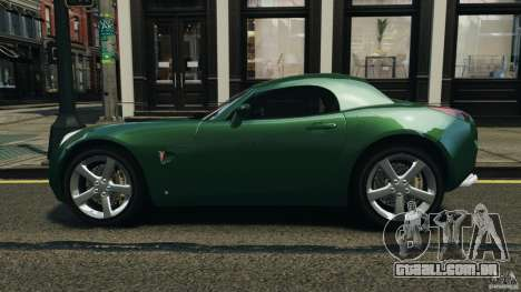 Pontiac Solstice 2009 para GTA 4 esquerda vista