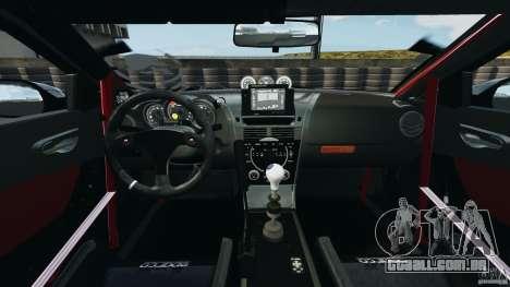 Mazda RX-8 Mad Mike para GTA 4 vista de volta