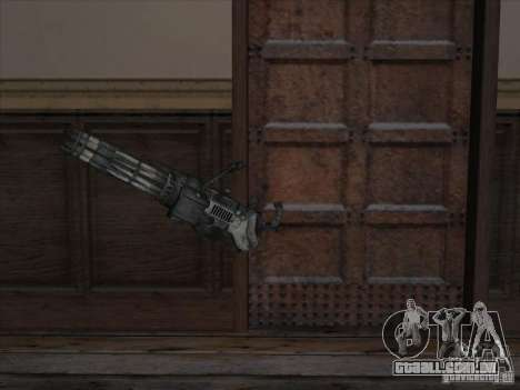 Minigun de Gears of War para GTA San Andreas