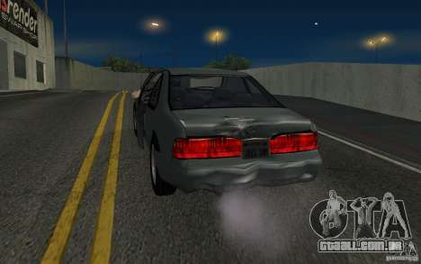 Ford Thunderbird 1993 para GTA San Andreas vista traseira