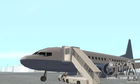 Airport Vehicle para GTA San Andreas por diante tela