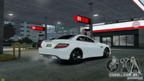Mercedes-Benz SLK55 R172 AMG 2011 v1.0 para GTA 4 traseira esquerda vista
