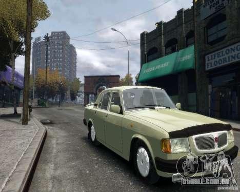 Volga GAZ 3110 para GTA 4 vista de volta
