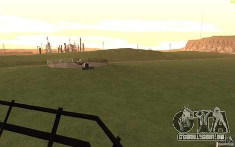 New desert para GTA San Andreas décimo tela