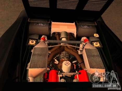 Ferrari 288 GTO para GTA San Andreas vista interior