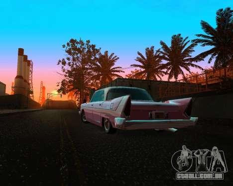 Plymouth Belvedere para GTA San Andreas vista traseira