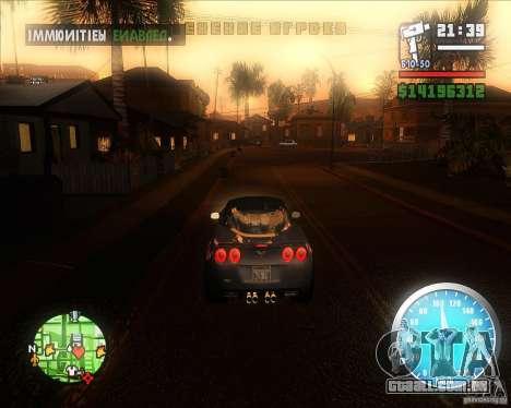 MadDriver s ENB v.3.1 para GTA San Andreas terceira tela