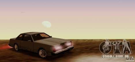 Virgo Continental para GTA San Andreas vista direita