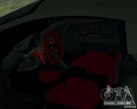 Lamborghini Sesto Elemento 2011 para GTA San Andreas vista direita