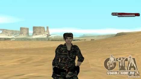 Soldado HD para GTA San Andreas
