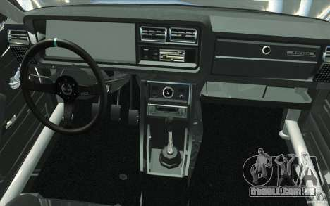 Drift Vaz Lada 2107 para GTA San Andreas vista superior