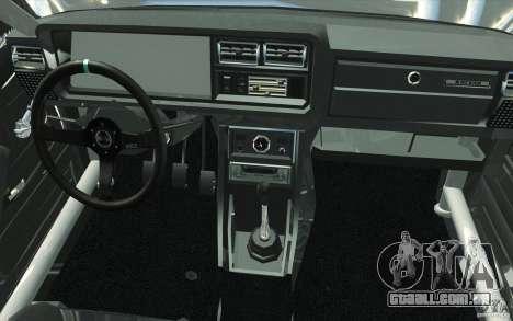 Drift Vaz Lada 2107 para GTA San Andreas vista superior