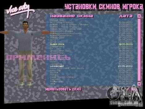 Pack de skins para o Tommy para GTA Vice City terceira tela