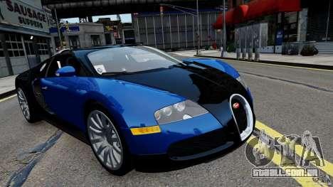 Bugatti Veyron 16.4 v1.0 wheel 2 para GTA 4 traseira esquerda vista