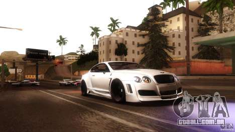 Bentley Continental GT Premier4509 2008 Final para GTA San Andreas vista traseira