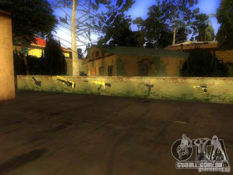 Armas na Grove Street para GTA San Andreas