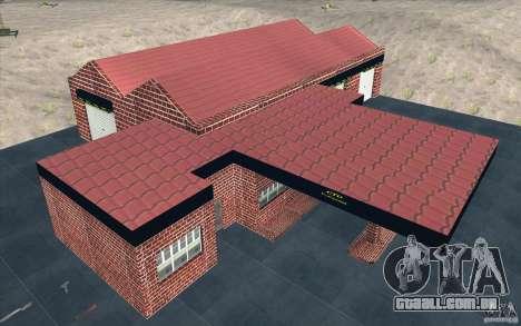 Nova garagem em Dorothy para GTA San Andreas quinto tela