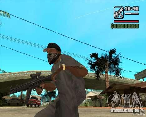 MP5 AGOG para GTA San Andreas segunda tela