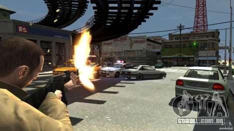 Red Army Mod (Realistic Weapon Mod) para GTA 4 por diante tela