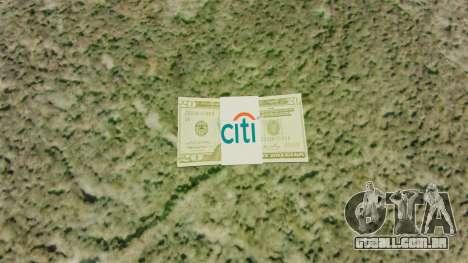 Estados Unidos notas em notas de $ 20 para GTA 4