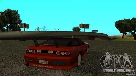 Nissan 240SX Signal Auto para GTA San Andreas esquerda vista
