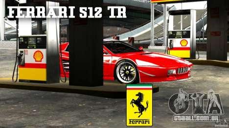 Ferrari 512 TR BBS para GTA 4 esquerda vista