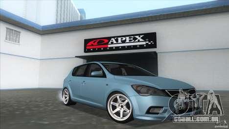 Kia Ceed 2011 para GTA San Andreas vista direita
