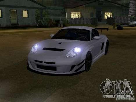 Porsche Cayman S NFS Shift para GTA San Andreas esquerda vista