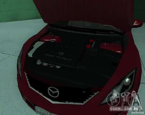 Mazda 6 2010 para GTA San Andreas vista direita
