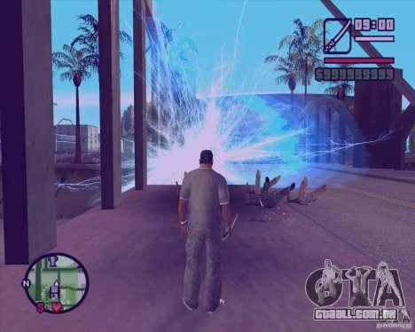 Chidory Mod para GTA San Andreas segunda tela