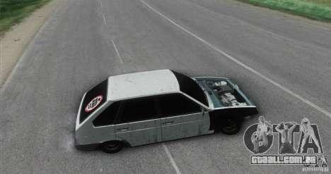 Vaz 2109 Hobo para GTA San Andreas traseira esquerda vista