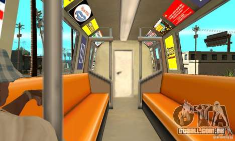 Liberty City Train GTA3 para GTA San Andreas vista direita