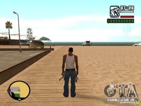 Mudança do radar de zoom para GTA San Andreas terceira tela